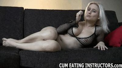 Cum Eating Instructors password